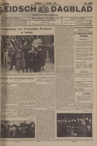 Leidsch Dagblad 1940-01-27