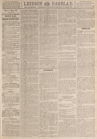Leidsch Dagblad 1919-02-14