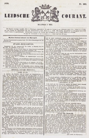 Leydse Courant 1876-05-01