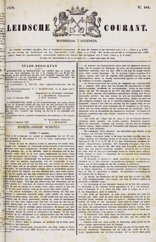 Leydse Courant 1879-08-07