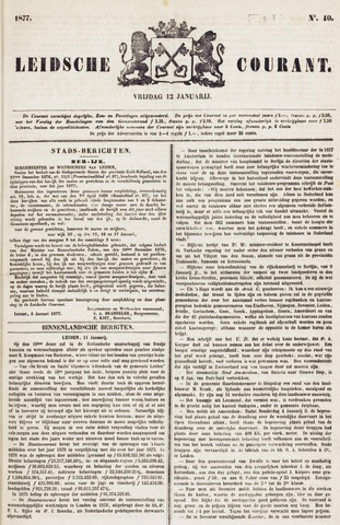 Leydse Courant 1877-01-12