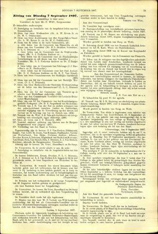 Handelingen van de Raad 1897-09-07