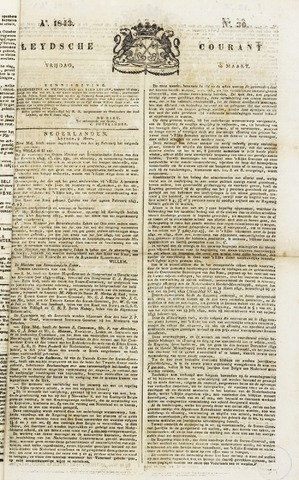 Leydse Courant 1843-03-10
