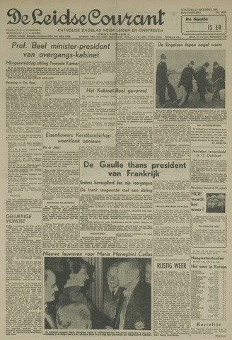 Leidse Courant 1958-12-22