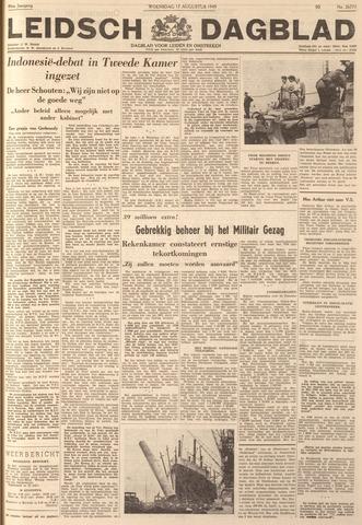 Leidsch Dagblad 1949-08-17