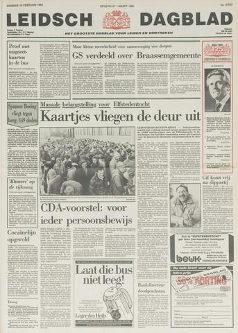 Leidsch Dagblad 1985-02-19