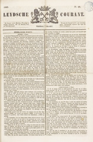Leydse Courant 1862-03-07