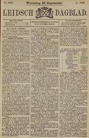 Leidsch Dagblad 1882-09-27