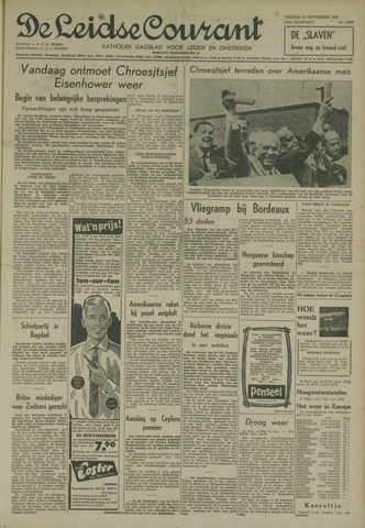 Leidse Courant 1959-09-25