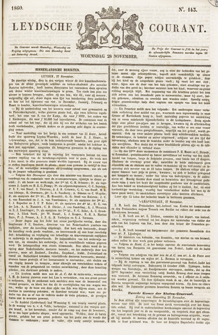 Leydse Courant 1860-11-28