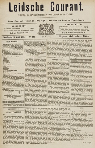 Leydse Courant 1885-06-25