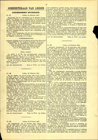 Handelingen van de Raad 1933-02-24