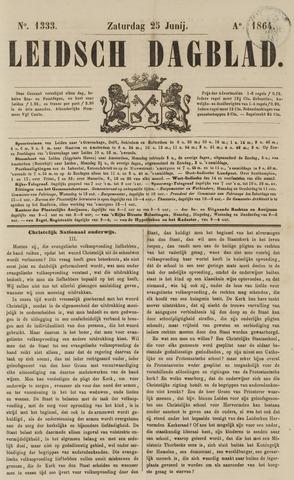 Leidsch Dagblad 1864-06-25
