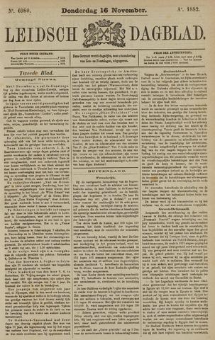 Leidsch Dagblad 1882-11-16