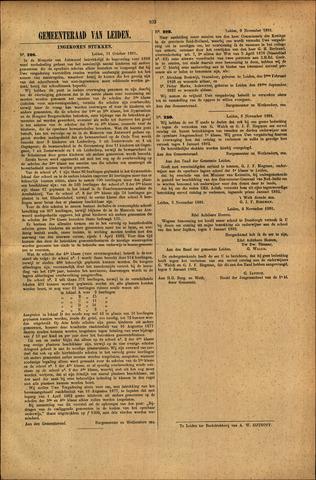 Handelingen van de Raad 1881-10-31