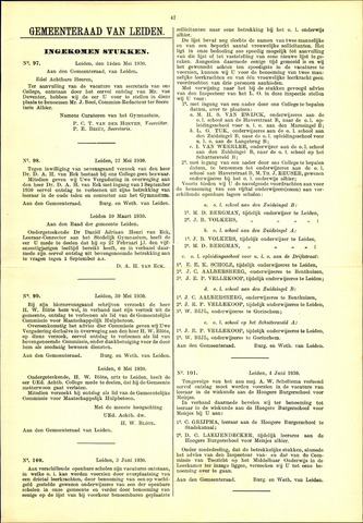 Handelingen van de Raad 1930-05-14