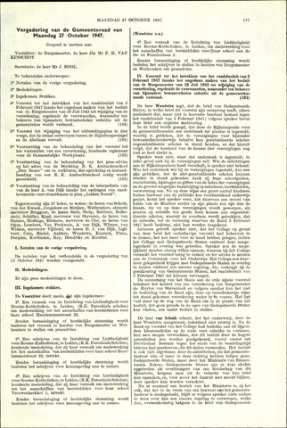 Handelingen van de Raad 1947-10-27