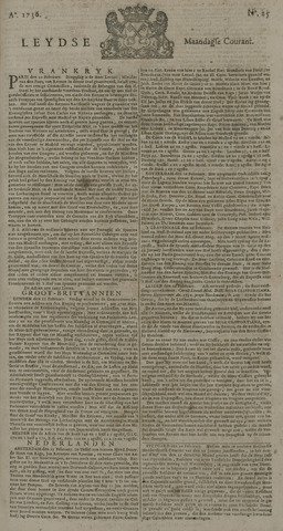 Leydse Courant 1736-02-27