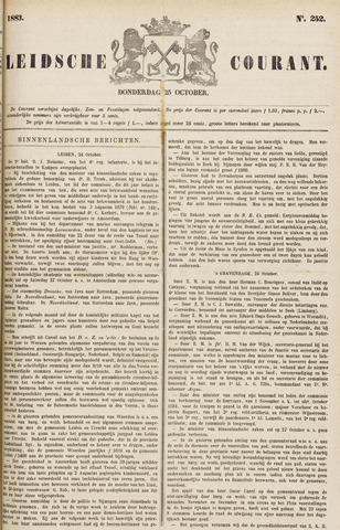 Leydse Courant 1883-10-25