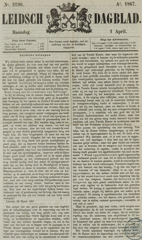 Leidsch Dagblad 1867-04-01