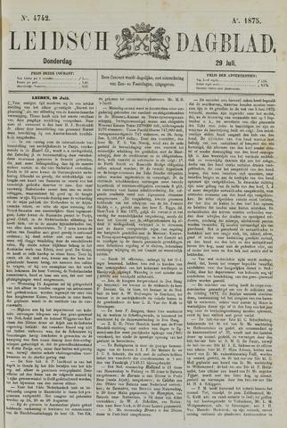 Leidsch Dagblad 1875-07-29