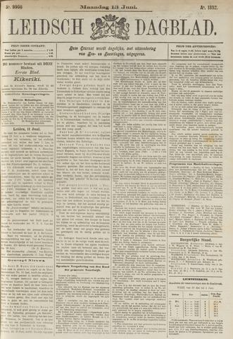Leidsch Dagblad 1892-06-13