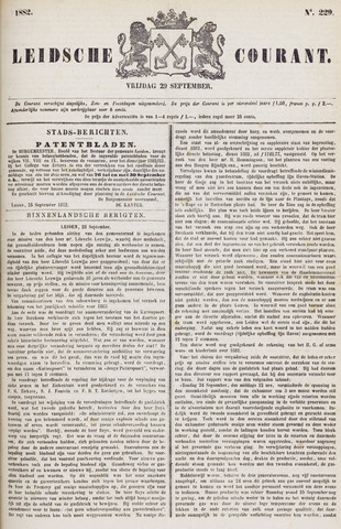 Leydse Courant 1882-09-29