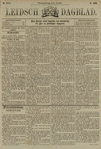 Leidsch Dagblad 1890-07-14