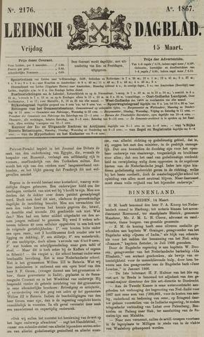 Leidsch Dagblad 1867-03-15