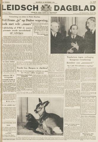 Leidsch Dagblad 1954-12-20