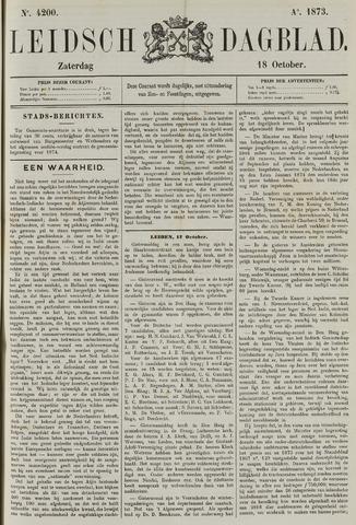 Leidsch Dagblad 1873-10-18