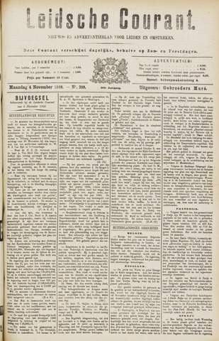 Leydse Courant 1889-11-05