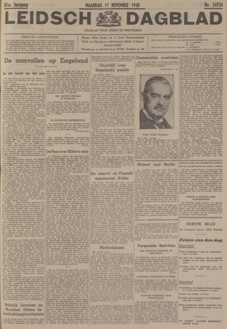 Leidsch Dagblad 1940-11-11