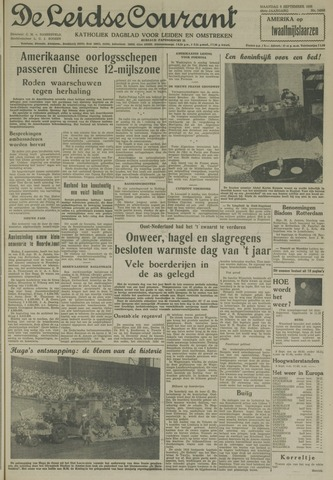 Leidse Courant 1958-09-08