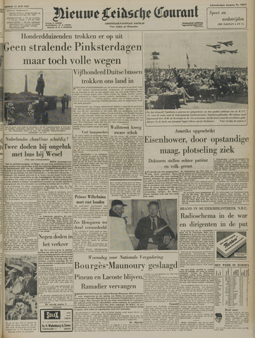 Nieuwe Leidsche Courant 1957-06-11