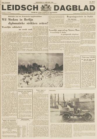Leidsch Dagblad 1954-01-06