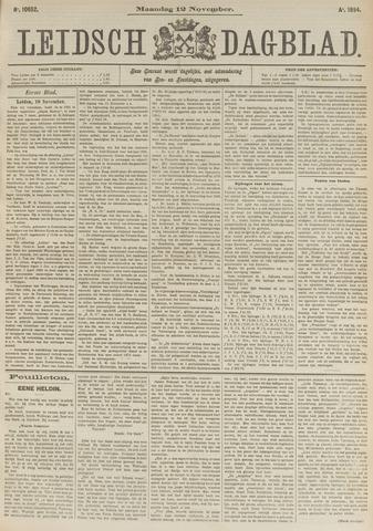 Leidsch Dagblad 1894-11-12