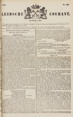 Leydse Courant 1884-05-05