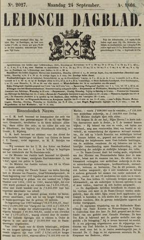Leidsch Dagblad 1866-09-24