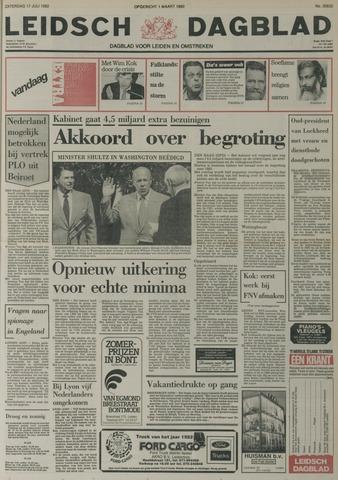 Leidsch Dagblad 1982-07-17