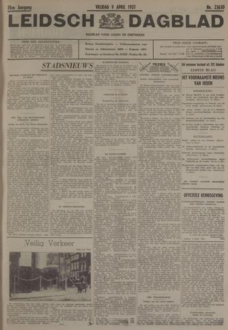 Leidsch Dagblad 1937-04-09