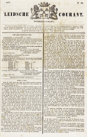 Leydse Courant 1871-03-09
