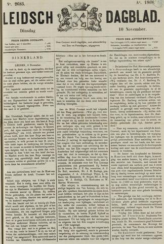 Leidsch Dagblad 1868-11-10