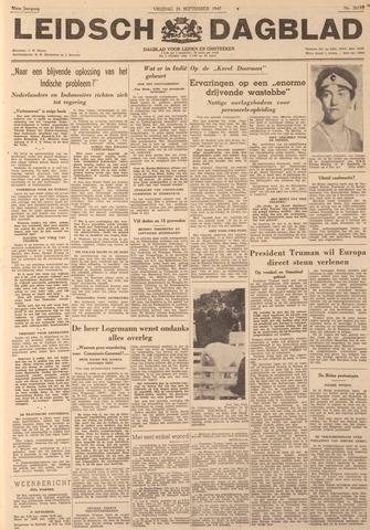 Leidsch Dagblad 1947-09-26