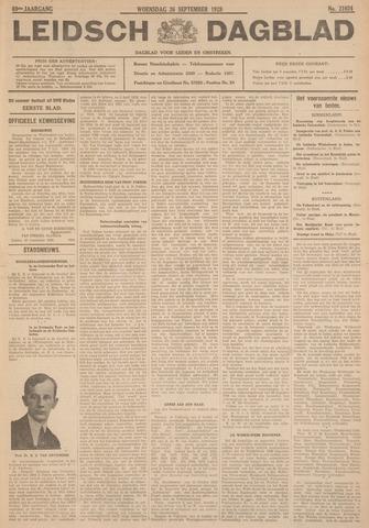 Leidsch Dagblad 1928-09-26