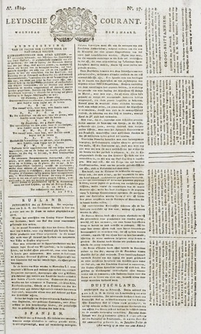 Leydse Courant 1824-03-03
