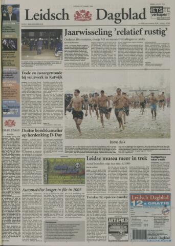 Leidsch Dagblad 2004