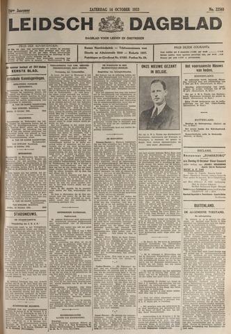 Leidsch Dagblad 1933-10-14