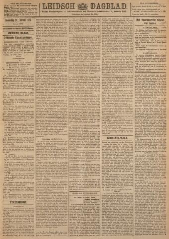 Leidsch Dagblad 1923-02-22