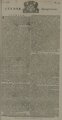Leydse Courant 1736-11-26
